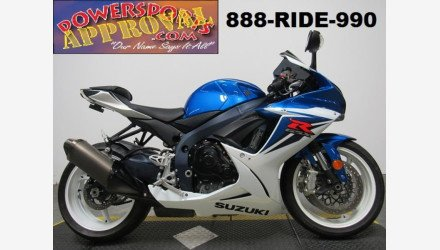 2012 Suzuki GSX-R600 for sale 200704540