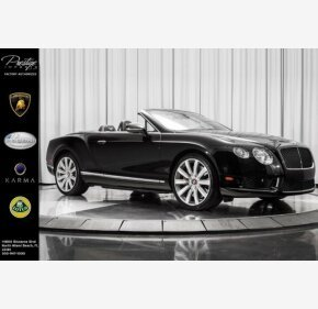 2013 Bentley Continental GT V8 Convertible for sale 101149466