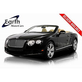 2013 Bentley Continental GT Convertible for sale 101216350