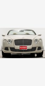 2013 Bentley Continental GT Convertible for sale 101224958