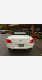 2013 Bentley Continental GT V8 Convertible for sale 101231286