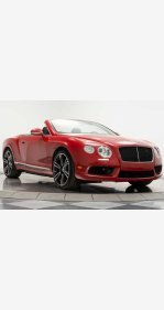 2013 Bentley Continental GT V8 Convertible for sale 101261809