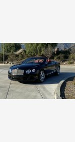 2013 Bentley Continental GT Convertible for sale 101273050