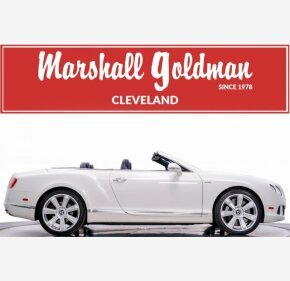 2013 Bentley Continental GT Convertible for sale 101276285
