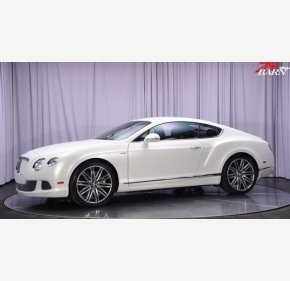 2013 Bentley Continental GT Speed Coupe for sale 101347934