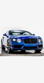 2013 Bentley Continental for sale 101397980