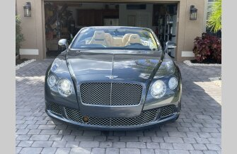 2013 Bentley Continental GT Convertible for sale 101452675