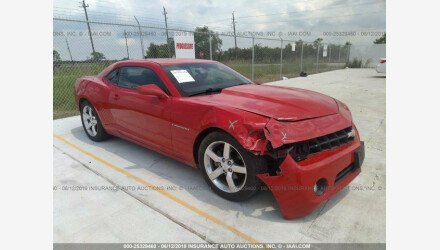 2013 Chevrolet Camaro LT Coupe for sale 101189925