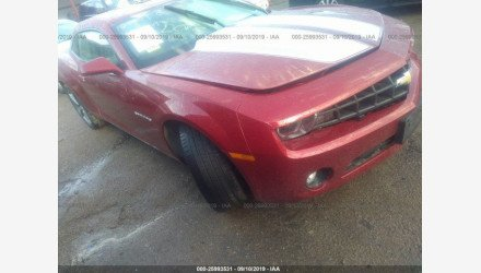 2013 Chevrolet Camaro LT Coupe for sale 101220920