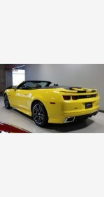2013 Chevrolet Camaro SS Convertible for sale 101222001