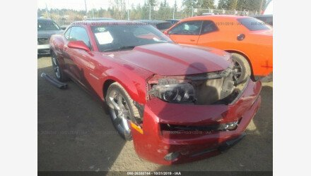 2013 Chevrolet Camaro LT Coupe for sale 101235914