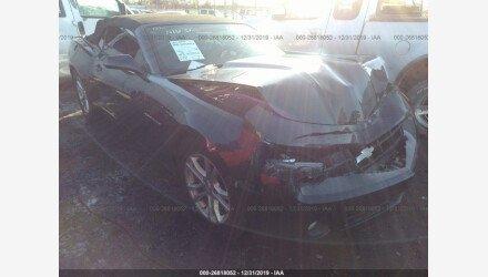 2013 Chevrolet Camaro LT Convertible for sale 101283592