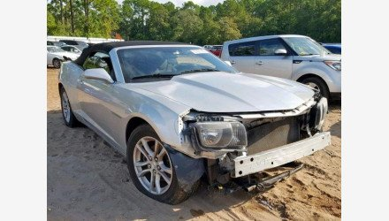 2013 Chevrolet Camaro LT Convertible for sale 101291086