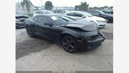 2013 Chevrolet Camaro LT Coupe for sale 101296840