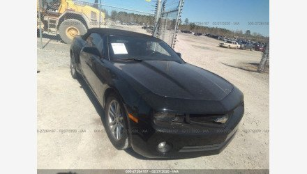 2013 Chevrolet Camaro LT Convertible for sale 101297459