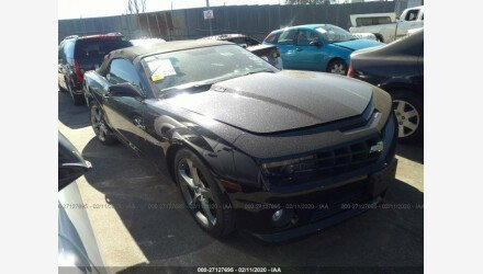 2013 Chevrolet Camaro SS Convertible for sale 101309135