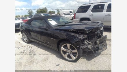 2013 Chevrolet Camaro LT Convertible for sale 101413203