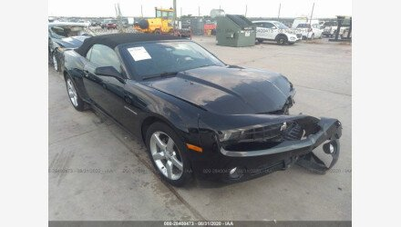 2013 Chevrolet Camaro LT Convertible for sale 101413313