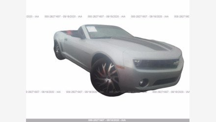 2013 Chevrolet Camaro LT Convertible for sale 101414925