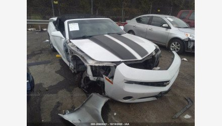 2013 Chevrolet Camaro LT Convertible for sale 101438929