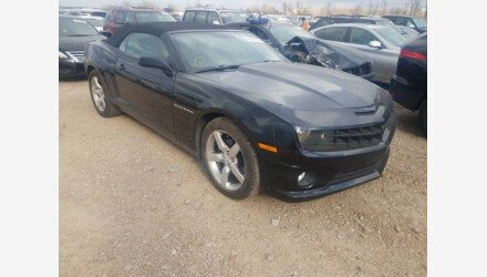 2013 Chevrolet Camaro LT Convertible for sale 101439743