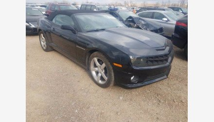 2013 Chevrolet Camaro LT Convertible for sale 101440485