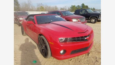 2013 Chevrolet Camaro SS Convertible for sale 101499019