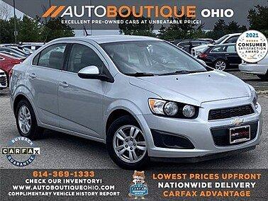 2013 Chevrolet Sonic for sale 101602288