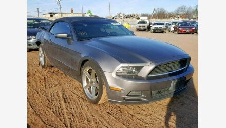 2013 Ford Mustang Convertible for sale 101108652