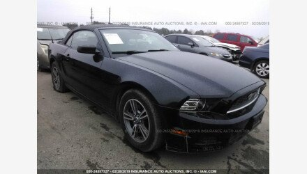 2013 Ford Mustang Convertible for sale 101113352