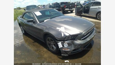2013 Ford Mustang Convertible for sale 101183961