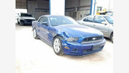 2013 Ford Mustang Convertible for sale 101221461