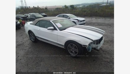 2013 Ford Mustang Convertible for sale 101224493