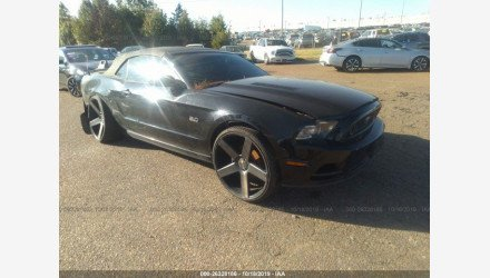 2013 Ford Mustang GT Convertible for sale 101238753