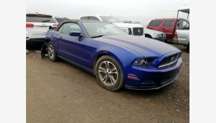2013 Ford Mustang Convertible for sale 101271469