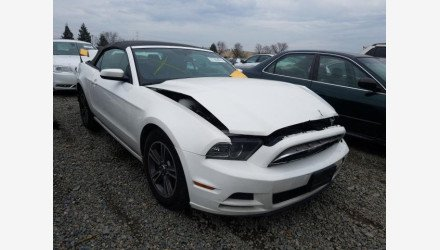 2013 Ford Mustang Convertible for sale 101284742