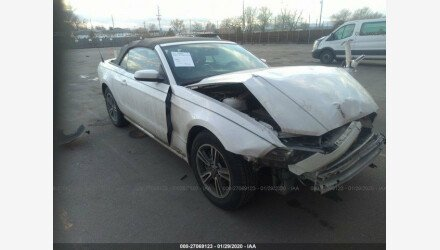 2013 Ford Mustang Convertible for sale 101285002