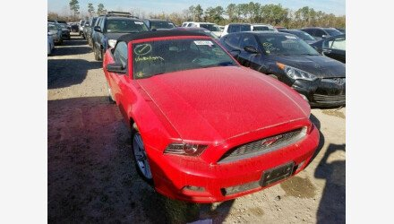 2013 Ford Mustang Convertible for sale 101287128