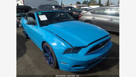 2013 Ford Mustang Convertible for sale 101351217