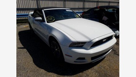 2013 Ford Mustang Convertible for sale 101395648