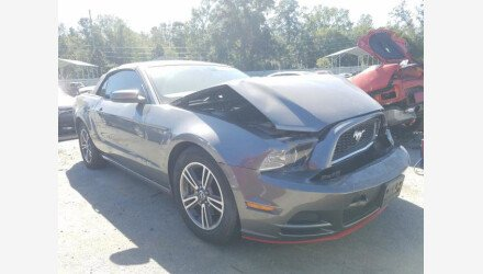 2013 Ford Mustang Convertible for sale 101413821