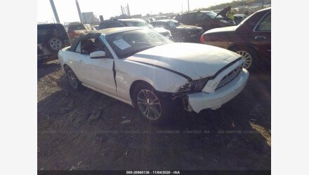 2013 Ford Mustang Convertible for sale 101451988