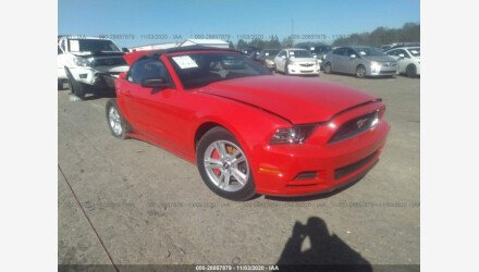 2013 Ford Mustang Convertible for sale 101455938