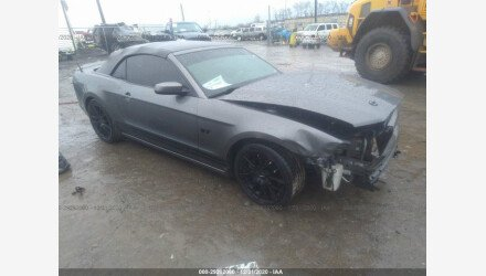 2013 Ford Mustang Convertible for sale 101464623