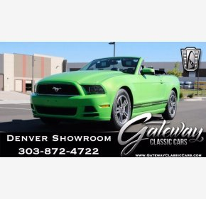 2013 Ford Mustang Convertible for sale 101466264