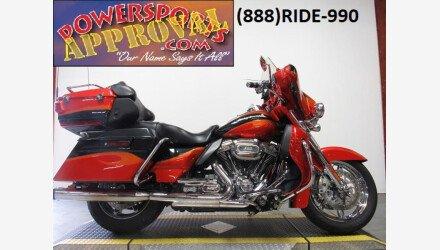 2013 Harley-Davidson CVO for sale 200791344