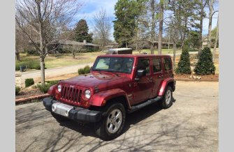 2013 Jeep Wrangler 4WD Unlimited Sahara for sale 100751313