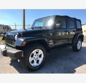 2013 Jeep Wrangler 4WD Unlimited Sahara for sale 100850816