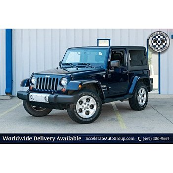 2013 Jeep Wrangler 4WD Sahara for sale 101176825