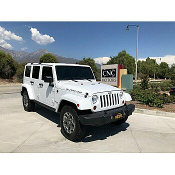 2013 Jeep Wrangler 4WD Unlimited Rubicon for sale 101200329